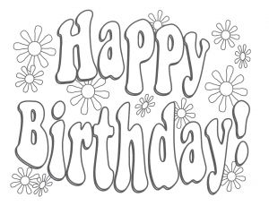 Happy Birthday Mommy Coloring Pages - Free Printable Happy Birthday Coloring Pages 24 Image Beauteous to Print 14r