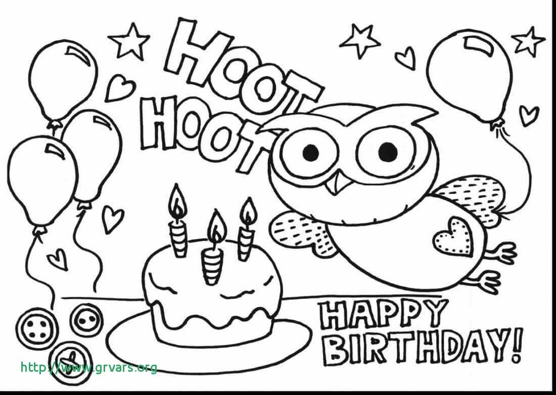 happy birthday mommy coloring pages Download-Happy Birthday Card Printable Coloring Pages élégant 43 Luxury Gallery Happy Birthday Coloring Pages 5-q