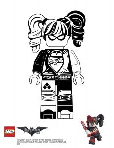 Harley Quinn Coloring Pages Printable - Finish Drawing Harley Quinn 1i