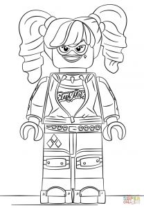 Harley Quinn Coloring Pages Printable - Cool Lego Harley Quinn Coloring Page Free Printable Pages Beautiful and 9m