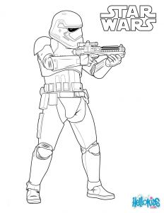 Hello Kids Coloring Pages - Stormtrooper the First order Coloring Pages Hellokids Best Star Wars Ausmalbilder Stormtrooper 11d