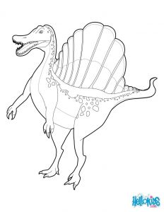 Hello Kids Coloring Pages - Spinosaurus Coloring Page 8sb 15j