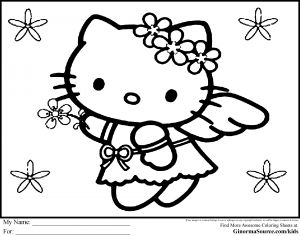 Hello Kids Coloring Pages - Hello Kids Coloring Pages Elegant Erfreut Ideen Framing Malvorlagen Neu Malvorlagen Kostenlos Hello Kitty 17j