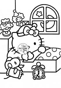 Hello Kitty Free Printable Coloring Pages - Kitty Ausmalbilder Elegant Hello Kitty Printable Coloring Pages Schön Hello Kitty Malvorlagen 1k