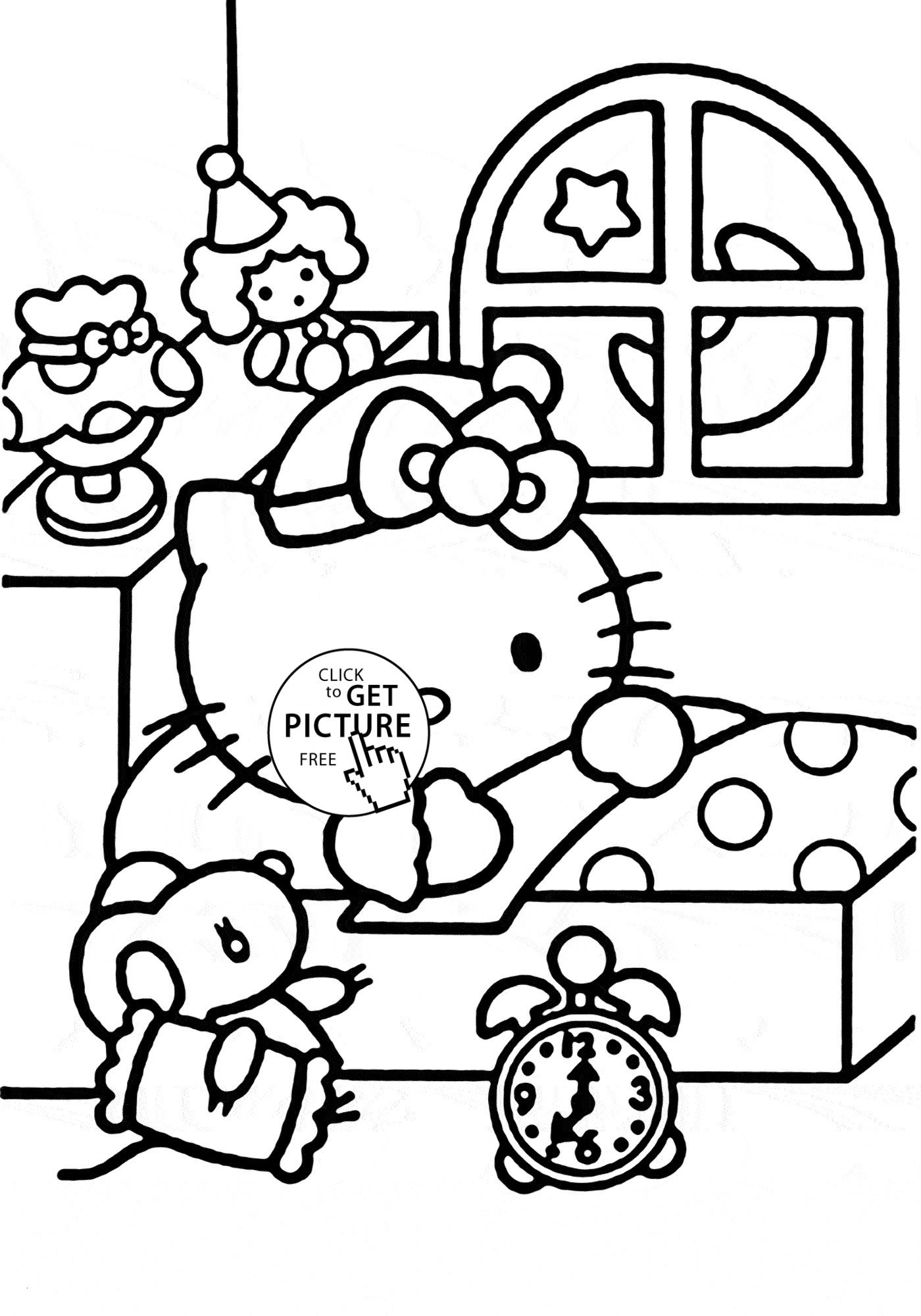 30 Hello Kitty Free Printable Coloring Pages Collection Coloring