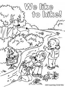 Hiking Coloring Pages - Free Coloring Pages Squirrels Lovely Friendship Coloring Pages Printable Best Summer Fun Hiking with 18b
