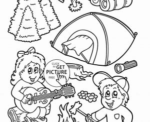 Hiking Coloring Pages - Free Camping Coloring Pages Inspirational Hiking Coloring Pages 16s