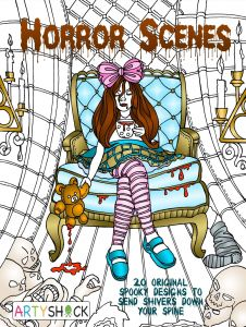 Hiking Coloring Pages - Have A Spooktacular Halloween with Favoreads 8h