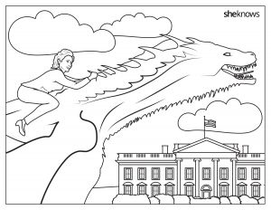 Hillary Clinton Coloring Pages - George W Bush Coloring Page This Hillary Clinton Coloring Book From Sheknows Reminds Girls they 18k
