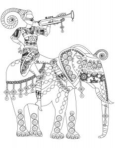 Hindu Gods Coloring Pages - Indian Elephant Coloring Pages Printable Indian Elephant Coloring Pages Printable Lovable India south Africa 14n