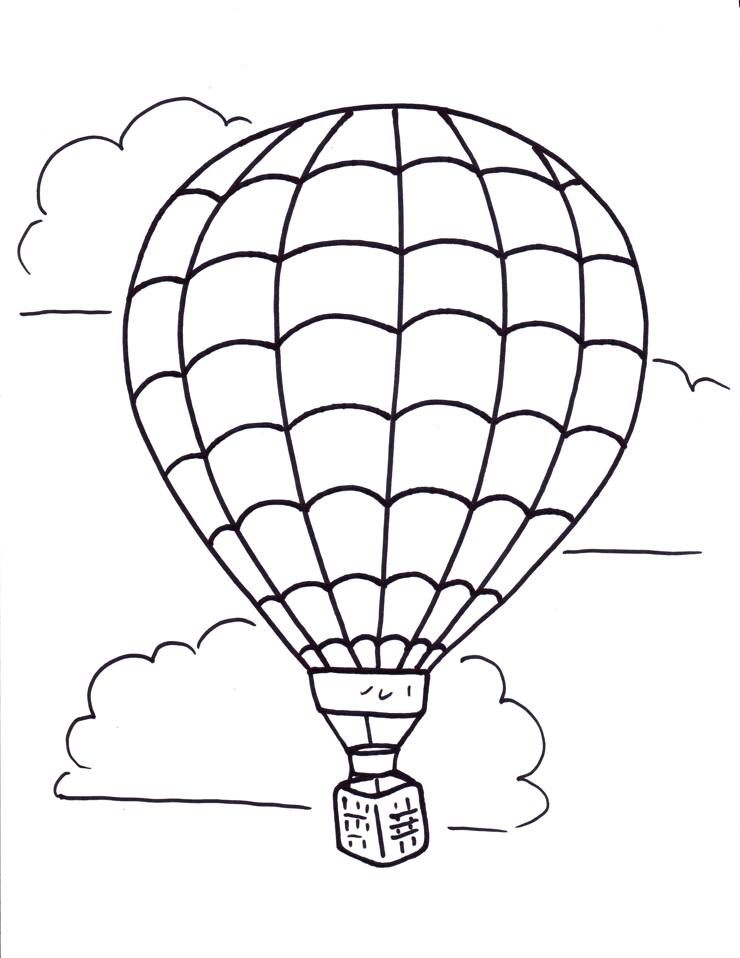 hot air balloon coloring pages Download-Colorful Hot Air Balloon Colouring Page Coloring Pages Free Bermuda 9-m