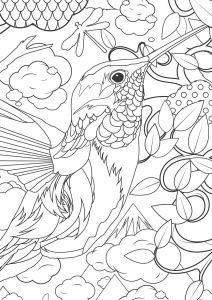 Humming Belles Coloring Pages - Supersized Colouring Picture From Kek Amsterdam Cool Coloring Pages Coloring Sheets Adult Coloring 17p