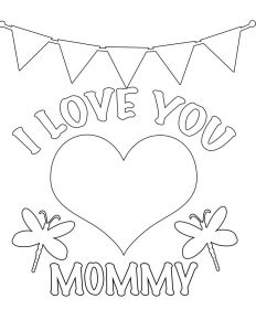 I Love My Mommy Coloring Pages - I Love My Mommy Coloring Pages 1ad Mom Coloring Pages Image Ideas astonishing Decoration Mommy I Love You Free Page Kids Valentines Day 20n