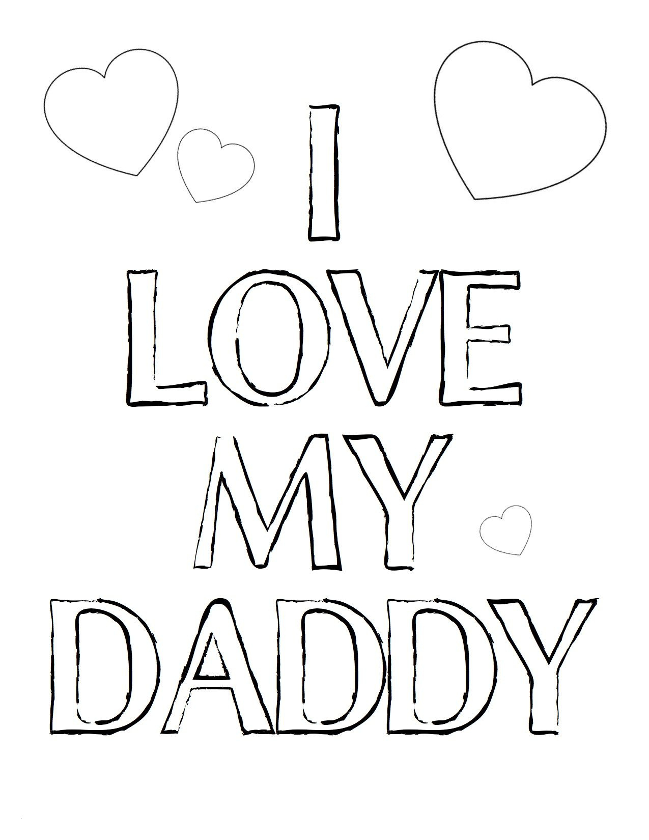 i love my mommy coloring pages Download-I Love You Daddy Coloring Pages 19-l