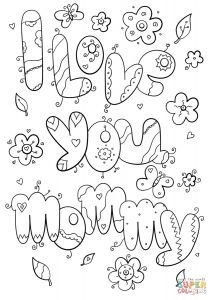 I Love My Mommy Coloring Pages - Stunning Dad Coloring Pages Printable Image Pic Love You Style and I Mom World S 15s