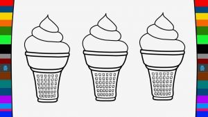 Ice Cream Coloring Pages - Ice Cream Coloring Pages Coloring & Activity How to Draw Ice Cream 12n