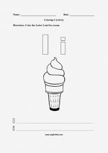 Ice Cream Coloring Pages - Ice Cream Coloring Pages Download and Print for Free Best Alphabet Coloring Pages D for Kids 2h
