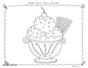 Ice Cream Coloring Pages - Ice Cream Coloring Pages Colored Beautiful Ice Cream Sundae Coloring Pages Best Ice Cream 20n