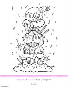 Ice Cream Coloring Pages - Cool Ice Cream Coloring Pages Awesome Free Coloring Page From Rudy Fig S New Book Being 14l