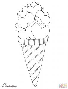 Ice Cream Coloring Pages - Cool Ice Cream Coloring Pages Best Love Ice Cream Coloring Page Desserts Pages Fresh 9j