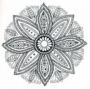 Intricate Mandala Coloring Pages - Printable Mandala Coloring Pages for Adults 7i