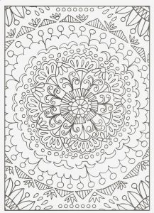Intricate Mandala Coloring Pages - Plex Coloring Pages Best Easy Plex Coloring Book 21csb 11p