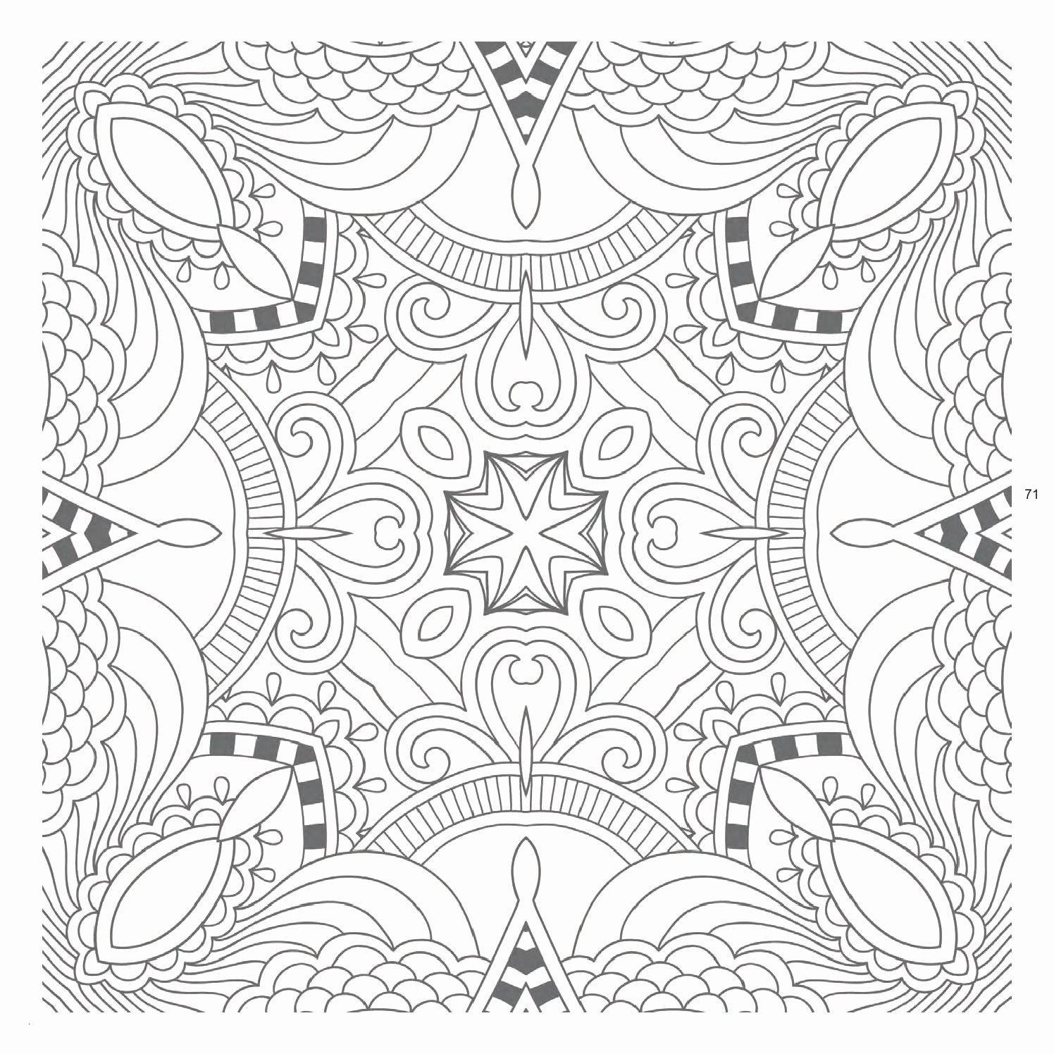 intricate mandala coloring pages free - photo#46