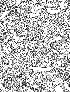 Intricate Mandala Coloring Pages - 10 Free Printable Holiday Adult Coloring Pages 7h