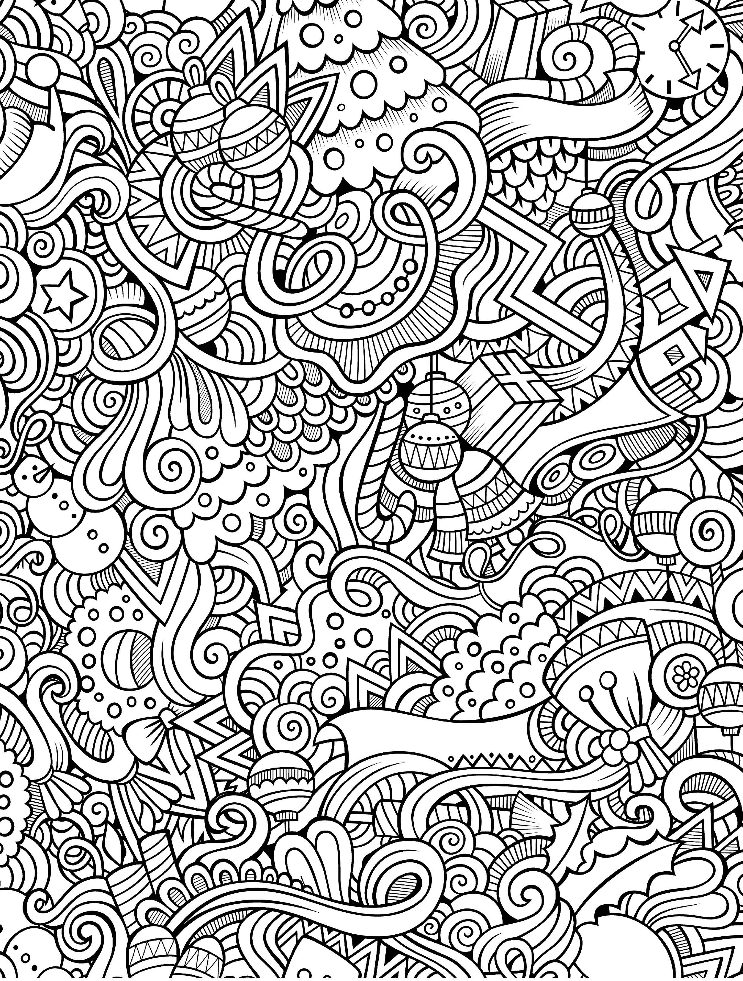 intricate mandala coloring pages free - photo#42