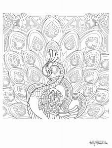 Intricate Mandala Coloring Pages - Free Printable Coloring Pages for Adults Best Awesome Coloring Page for Adult Od Kids Simple Floral Heart with 7p
