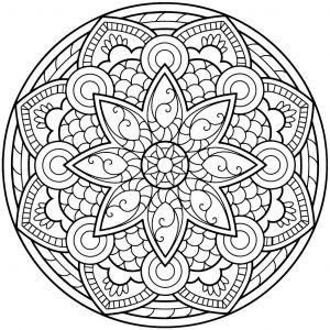 Intricate Mandala Coloring Pages - Mandala Coloring Pages for Adults for android Ios and Windows Phone 10k