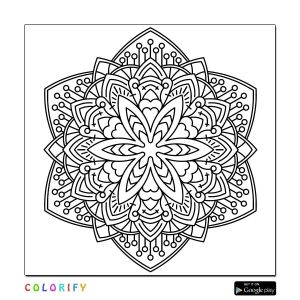 Intricate Mandala Coloring Pages - Coloring Books Adult Coloring Coloring Sheets Mandala Coloring Fun Crafts Diy Gifts Mandala Design Printable Coloring Party Ideas 5t