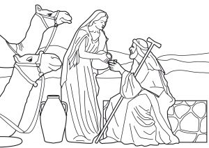 Isaac and Rebekah Coloring Pages - isaac and Rebekah Coloring Pages isaac and Rebekah Coloring Pages Heathermarxgallery 1e