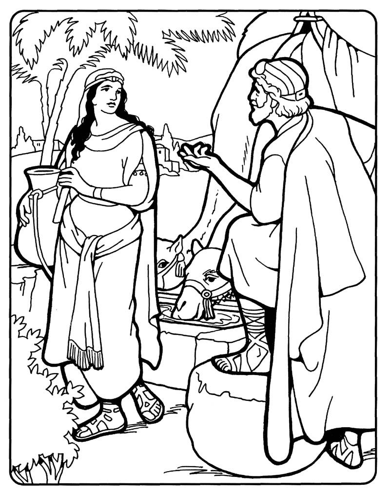 isaac and rebekah coloring pages Download-3299f61a3c b6422a4a4ae7f 1-p