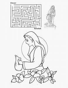 24 isaac and Rebekah Coloring Pages Collection - Coloring ...