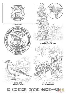 Jamaica Coloring Pages - Best Of Jamaican Flag Coloring Sheet Free 12k Michigan State Symbols 11k