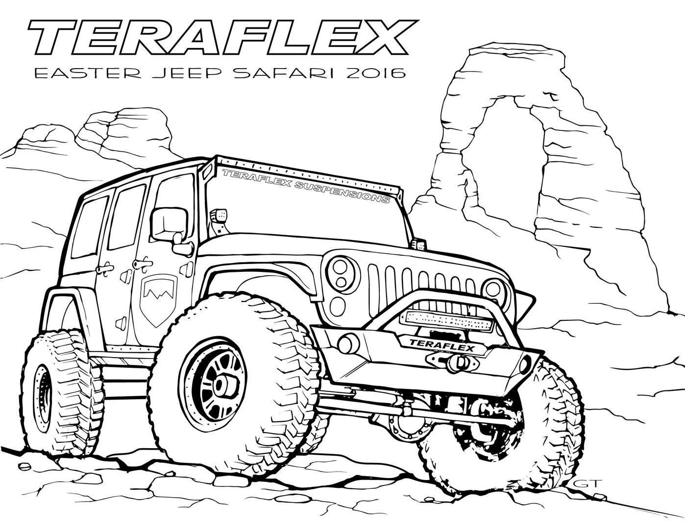 23 Jeep Coloring Pages Collection Coloring Sheets