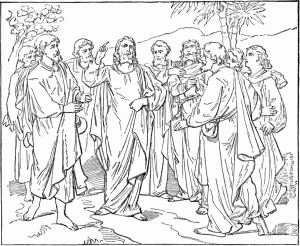 Jesus and His Disciples Coloring Pages - the 12 Disciples Coloring Pages New Colorp10 Disciple Coloring Page 10l