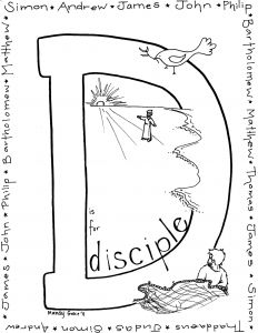 Jesus and His Disciples Coloring Pages - Jesus and His Disciples Coloring Pages Unique Jesus and His Disciples Coloring Pages Inspirational Disciples Od Jesus and His Disciples Coloring Pages 10h