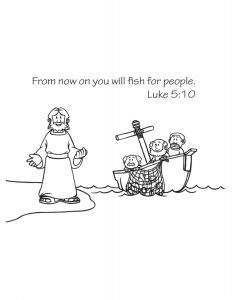 Jesus and His Disciples Coloring Pages - Jesus Chooses His Disciples Coloring Page 17t