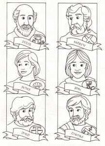 Jesus and His Disciples Coloring Pages - Jesus and His Disciples Coloring Pages Fresh Schuler Coloring Pages Jesus and His Disciples Coloring Pages Good Jesus Disciples Coloring Page 16f