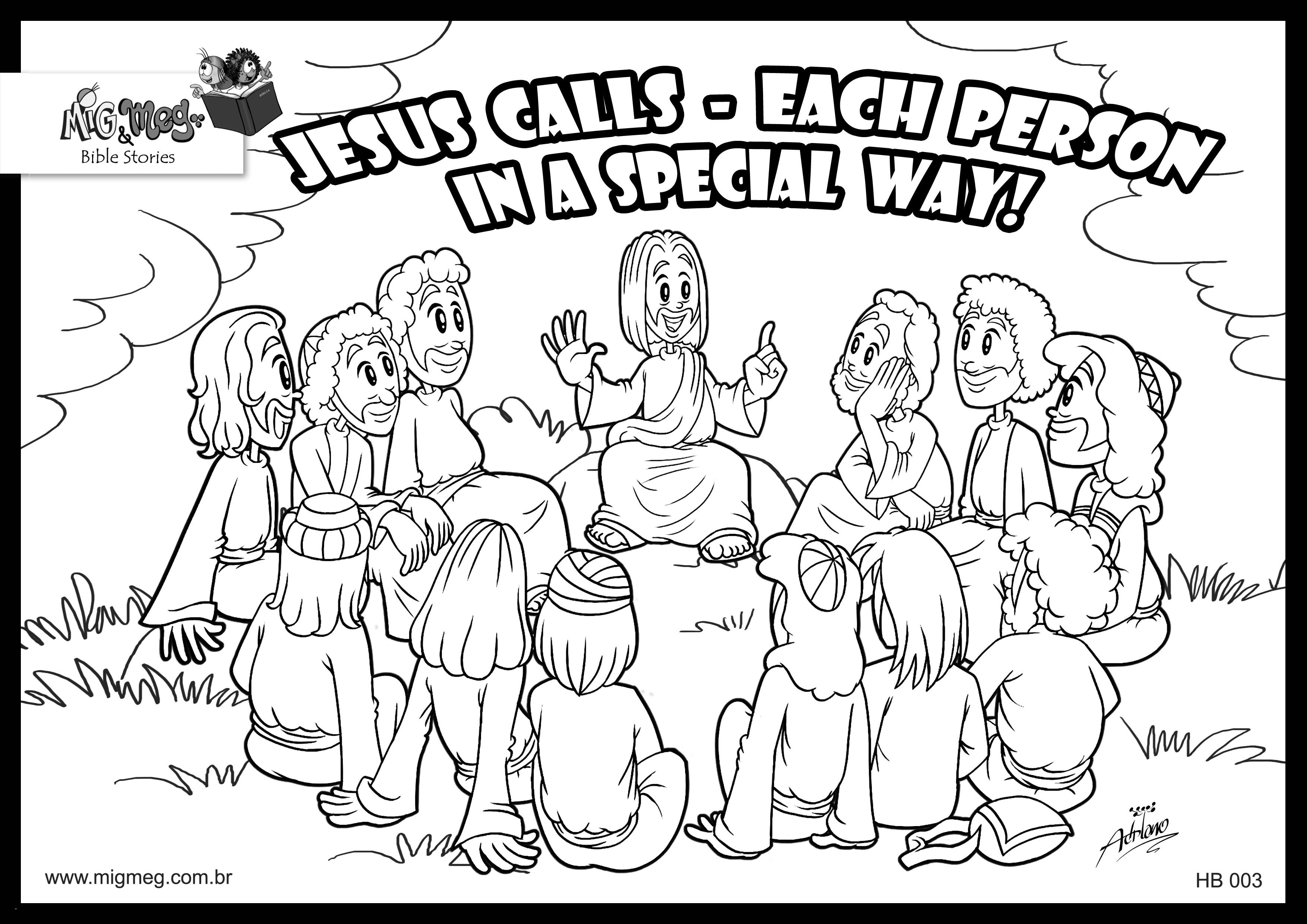 jesus and his disciples coloring pages Download-Jesus and the Disciples Coloring Pages 15-m