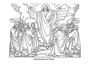 Jesus ascension Coloring Pages - ascension Coloring Page Jesus ascension Coloring Pages Awesome Jesus ascension Coloring 3p