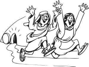 Jesus ascension Coloring Pages - Free Coloring Pages Jesus ascension Gallery is Risen Coloring Page Stock Bible Resurrection ascension 17a