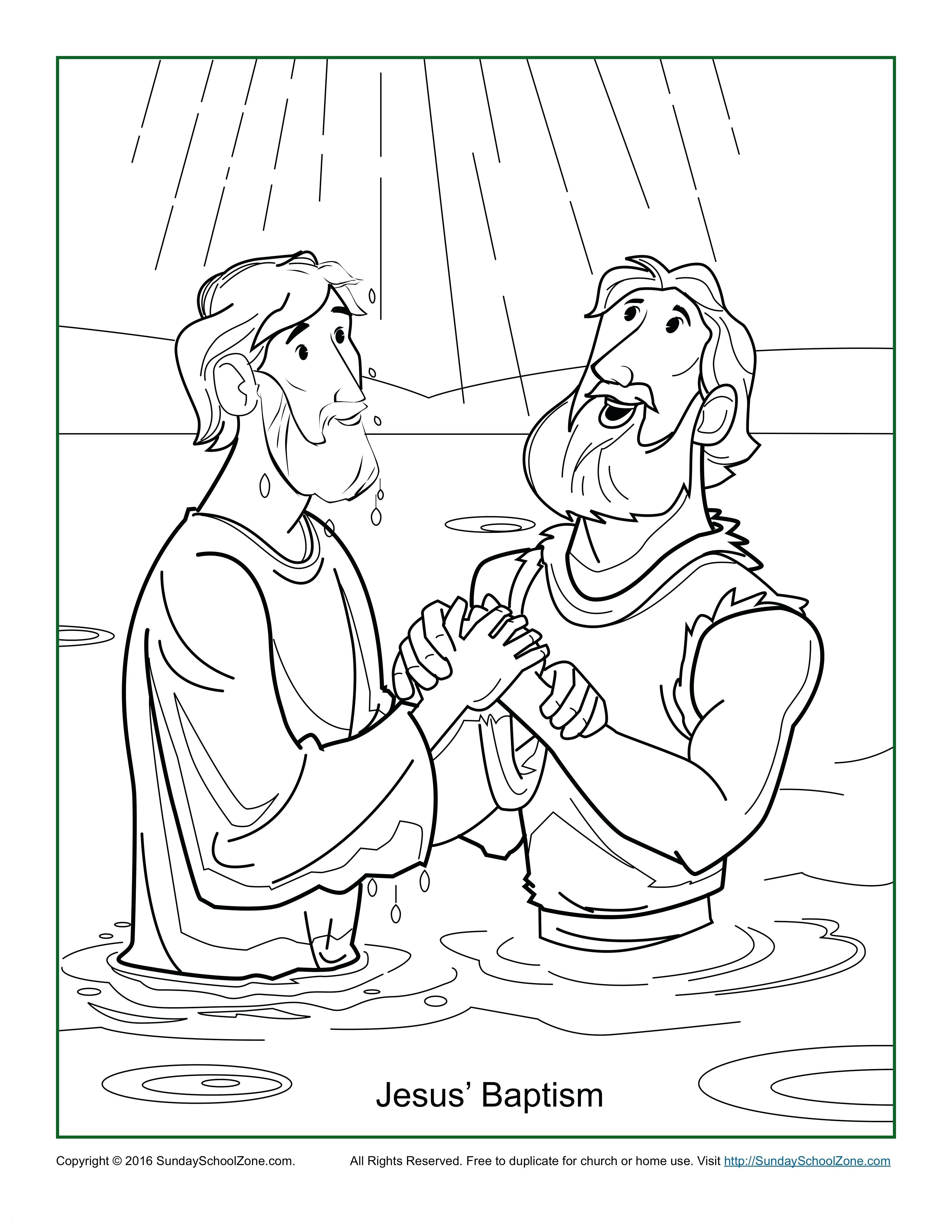 jesus baptism coloring pages Collection-0d Baptism Coloring Page Baptism Coloring Pages Brilliant Jesus Baptism Coloring Page 12-l