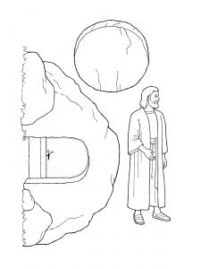 Jesus Christ Coloring Pages - Coloring Pages Jesus Christ with Nursery Manual Page 123 Was Resurrected 13b