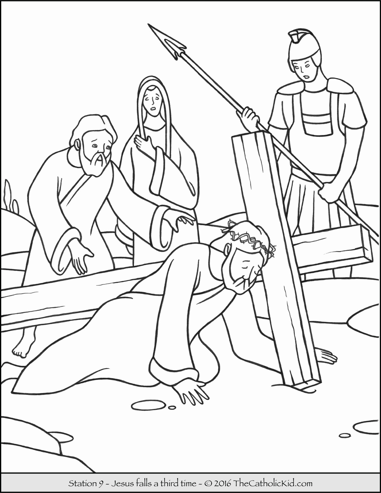23 Jesus Christ Coloring Pages Collection - Coloring Sheets