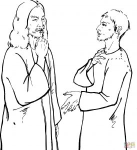 Jesus Healed the Paralyzed Man Coloring Pages - Jesus Heals A Paralytic Coloring Page Jesus Heals the Blind Man Coloring Pages attractive Free Printable 3h