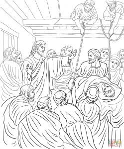 Jesus Healed the Paralyzed Man Coloring Pages - Jesus Heals A Paralytic Coloring Page Jesus Heals Blind Bartimaeus Coloring Page New Jesus Heals Paralytic 1g