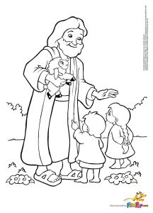 Jesus Heals the Blind Man Coloring Pages - Happy Birthday Jesus Coloring Pages 08 14c